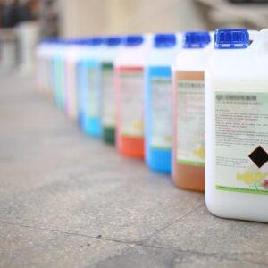 Productos químicos y desinfectantes